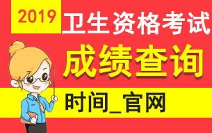 中国卫生人才网官网查分入口_2019全国卫生专业技术资格考试成绩查询专题